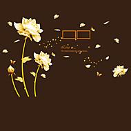 בוטניקה / מילים וציטוטים / דוממים / אופנה / פרחים / נופש מדבקות קיר מדבקות קיר מטוס מדבקות קיר דקורטיביות / מדבקות תמונה,PVC חוֹמֶרניתן