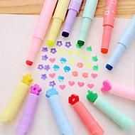 בצבעי סוכרייה תכליתית כתובים סמן צבע ניאון עט יחיד