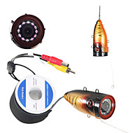 HD 1000 TVL Underwater Fishing Camera Fish Finder Ice Fishing Camera  With 30M Cable Infrared version IR LED Camera
