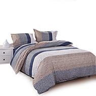 4-teilig Bettbezug setzt Polyester Blumenmuster