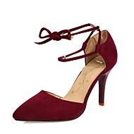 8751b36ffe7d Sko-Fleece   Glitter-Stiletthæl-Hæler   Spiss tå-høye hæler-