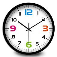 Μοντέρνο/Σύγχρονο Άλλα Ρολόι τοίχου,Κυκλικό Μεταλλικό Εσωτερική/Εξωτερική Ρολόι