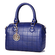 Women-Formal / Office & Career-Pigskin-Tote-Blue / Brown / Red / Gray / Black