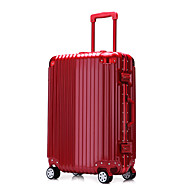 Unisex PVC Outdoor Luggage Blue / Gold / Red / Silver / Black