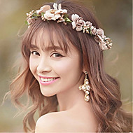 Bride's Flower Rhinestone Forehead Wedding Hair Accessories Headbands 1 PC