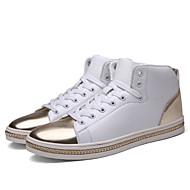 נעלי ספורט-גברים של נעליים-שטח / קז'ואל / ספורט-PU-שחור / לבן