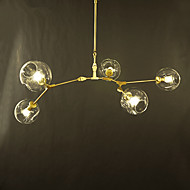 5 Chandelier ,  Modern/Contemporary Electroplated Feature for Designers Metal Living Room / Study Room/Office