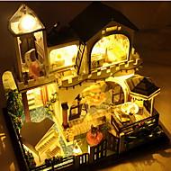 diy lodge Xingdao vakantie hand geassembleerd model huis villa