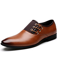 Sort / Brun Herresko Nappa Leather Oxfords Oxfords