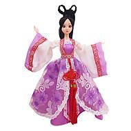 Poppenkleren Ontspannende hobby's Kostuum Rok Kunststof Rood Voor meisjes 5 tot 7 jaar