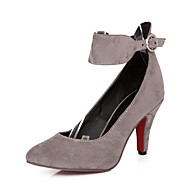 Women's Shoes Heel Heels / Pointed Toe Heels Office & Career / Dress / CasualBlack / Brown / Yellow / Green / Red /