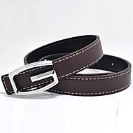 Boys Belts,All Seasons Faux Leather Black / Blue / Brown / Red / Beige