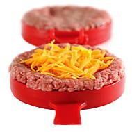 DIYのプラスチックハンバーガーの肉のビーフグリルバーガープレスパテメーカーモールド金型機パテ