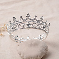 Women's Rhinestone / Alloy Headpiece-Wedding Tiaras 1 Piece