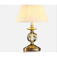 Crystal Lamp Desk Lamp Of Bedroom   Living Room A Study Luxury Cloth Art Adornment Of Led Desk Lamp