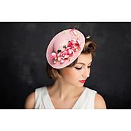 Women's Lace Pearl Net Headpiece-Special Occasion Fascinators 1 Piece