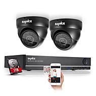 SANNCE® 4CH Full 960H CCTV DVR Video Surveillance Recorder 800TVL Cameras CCTV System