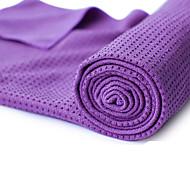 Yoga-håndklæder Anti-Skrid Ikke Giftig Lugtfri Miljøvenlig Hurtigtørrende Tyk Letvægt Mikrofiber Blåt Orange Grøn Lilla
