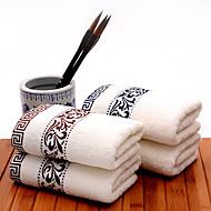 """1 kus plný bavlna osuška 55 """"od 27"""" květinovým vzorem super soft silnou nasákavostí"""
