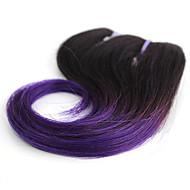 Emberi haj Brazil haj Az emberi haj sző Hullámos Póthajak 1 darab T1B / Lila / kék