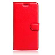 のために Alcatelケース カードホルダー / スタンド付き / フリップ ケース フルボディー ケース ソリッドカラー ハード TPU AlcatelAlcatel Flash Mini OT4031D / Alcatel GO Play OT7048X /