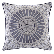 Polyester Pillow With Insert,Geometric Retro 18x18 inch