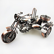 European-Style Three-Wheeled Motorcycle Model Metal Ornaments Home Accessories Gift Ideas