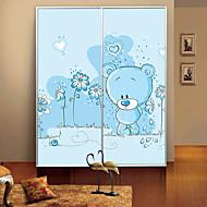 høj kvalitet uden lim elektrostatiske farvetone matteret vindue mærkat toilet gennemtrængelige for lys mere uigennemsigtig