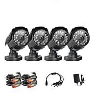 """annke® 1/4 """"CMOS 800tvl ir Tag und Nacht Sicherheit wetterfest Überwachung im Freien CCTV-Kamera"""