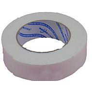 valkoista vaahtoa kaksipuolinen liima vahvuus 1.8cm leveys 3m tahansa leikattu pakkaus kymmenen