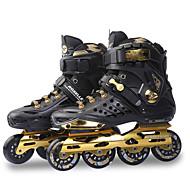 Atletické boty-PU-Nazouvací / Kulatá špička-Dámské-Fialová / Bílá / Black and Gold-Atletika-Dělený