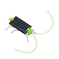 Dejlig Mini Solar Energy Powered Child Kid Toy Locust Solar Grasshopper Insect Bug