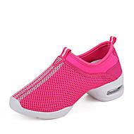 Na míru-Dámské-Taneční boty-Taneční tenisky-Látka-Kačenka-Černá / Červená / Bílá