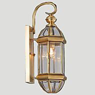 Светодиодная лампа Настенные светильники,Традиционный/классический E26/E27 Металл