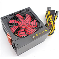 400W-500W (w) ATX 12V 2.3 datamaskin strømforsyning med 6pin / 8pin for pc