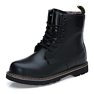 Winter Men Cotton Warm Leather Boots Snow Boots