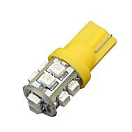 10x rav gule t10 kile 10smd LED slå lySett W5W 2825 158 192 168 194 906 912