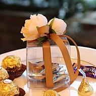 Geschenkboxen(Gold / Lila / Rosa / Rot,Plástico) -Nicht personalisiert-Hochzeit