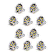 10PCS MR11 9LED SMD5050 250-300LM 3W Warm White /Cool White Decorative DC 12V