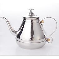 máquina de café longa e fina boca chaleira gotejamento palácio pote de café de aço inoxidável