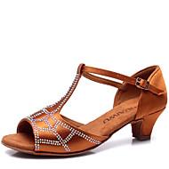 Sapatos de Dança(Marrom / Outro) -Infantil-Não Personalizável-Latina