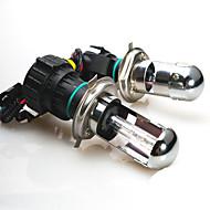 55w 12v h4 6000k xenon hi / lo beam verborg reservelampjes voor koplamp