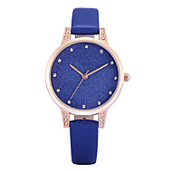 REBIRTH® Women's Simple Fashion Watch Slim PU Leather Strap Quartz Wrist Watch