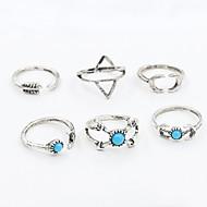 Κρίκοι Μοντέρνα / Προσαρμόσιμη Καθημερινά / Causal Κοσμήματα Γυναικεία / Άντρες Δαχτυλίδια για τη Μέση του Δαχτύλου / Βέρες 1set,Ένα