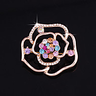 One piece/Rose Pink Brooches