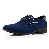 Westland® Men's Oxfords Comfort / Pointed Toe Canvas Office & Career / Party & Evening / Casual Low Heel Lace-up /