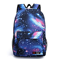 Unisex Star Printing Canvas Sports  Casual  Outdoor Backpack  School Travel Bag
