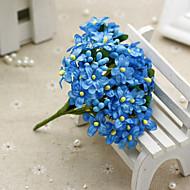 1 1 Ág Selyem Gyöngyvirág Asztali virág Művirágok 10CM