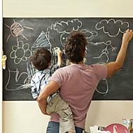 200*45Cm Big Chalkboard Wall Stickers Homeschooling Living Room Blackboard Wall Decals