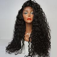 de fibra de alta qualidade soltas curly perucas rendas sintética frente perucas resistentes perucas de cabelo sintético 180% de densidade